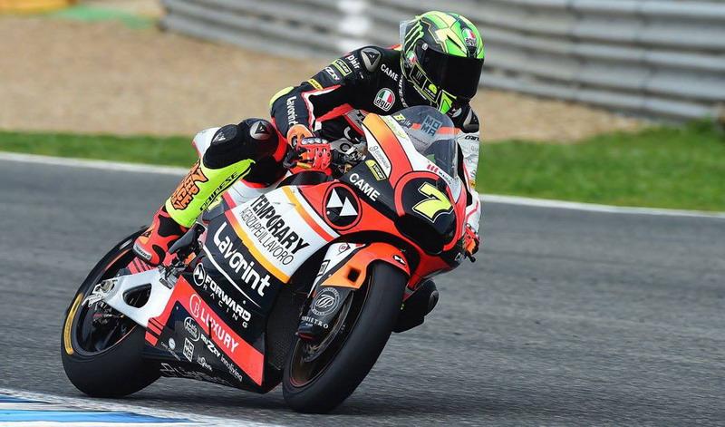 Lorenzo Baldassarri Dinyatakan dalam Kondisi Baik, Bos Forward Racing Merasa Lega