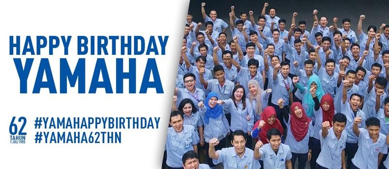 Selamat Ulang Tahun ke-62 Yamaha Motor Company (YMC)