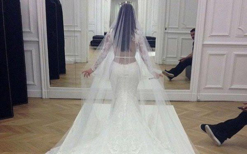 5 Selebriti Ini Punya Gaun Pengantin Termahal Punya Kim Kardashian