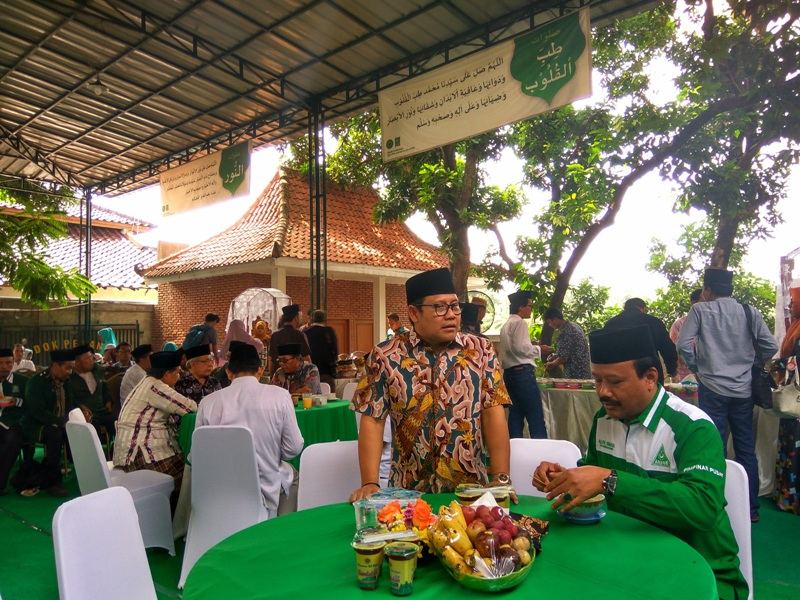 Ketum PKB Muhaimin Iskandar alias Cak Imin gelar halalbihalal (Badriyanto/Okezone)
