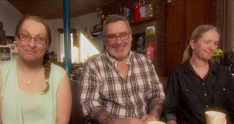 Dari kiri ke kanan: Andrea, Michael dan Laura. (Foto: Channel Nine)