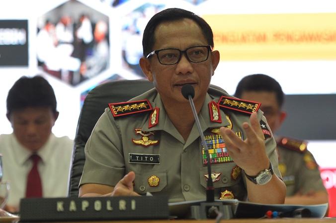 Kapolri Jenderal Tito Karnavian (Antara)