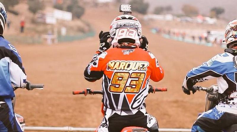 Sering Latihan Bareng Juara Dunia Motocross, Marquez: Itu Buat Saya Termotivasi!