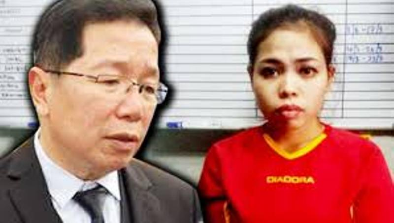 Pengacara Bahas Bukti Pembunuhan Kim Jong-nam Tanpa Kehadiran Siti Aisyah