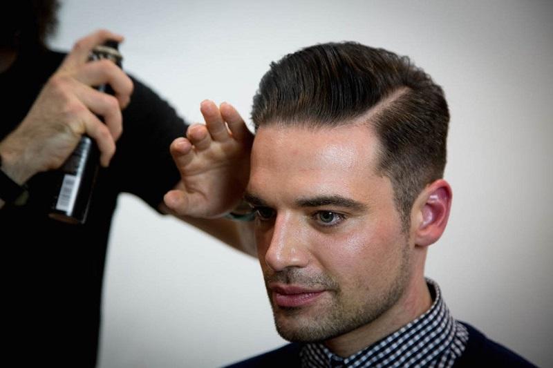 Model Rambut Muka Kotak Pria