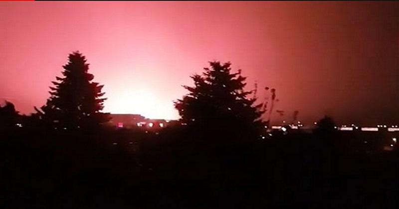 Ada Kilatan Merah Misterius di Langit, Warga Khawatir Invasi Alien