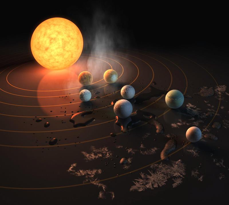 Bukan Pluto, Ternyata Alam Semesta Miliki Planet Termuda Lain