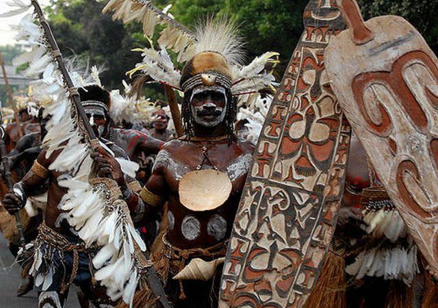 Wow Ternyata Suku Asmat Papua Titisan Dewa Okezone