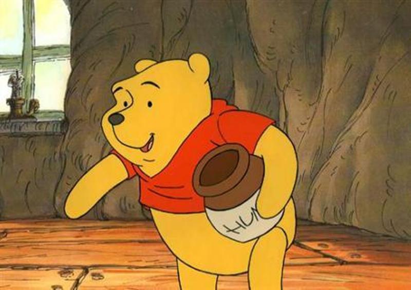 Karakter beruang ciptaan pengarang Inggris AA Milne, Winnie The Pooh (Foto: Reuters)