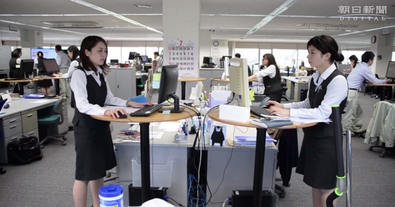 Unik, Perusahaan Ini Larang Karyawan Gunakan Komputer sambil Duduk