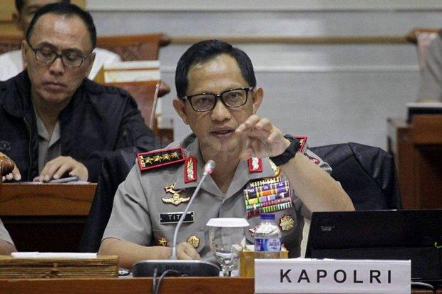Kapolri Jendral Tito Karnavian (foto: Okezone)