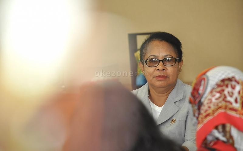 Menteri Yohana (Foto: Okezone)