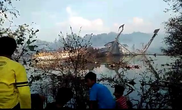 Sungai Silugonggo, Lokasi Terbakarnya 12 Kapal Sudah Bisa Dilintasi