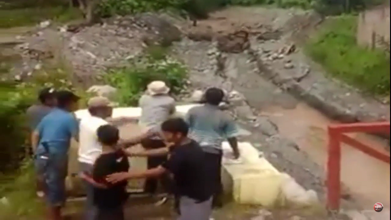 Ngeri, Video Lahar Dingin Gunung Sinabung Terjang Permukiman Warga Ini Bikin Merinding