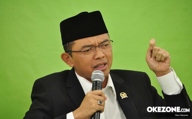 Anggota DPR RI Komisi VIII KH Maman Imanulhaq (Foto: Heru Haryono/Okezone)