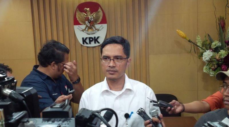 Juru Bicara KPK Febri Diansyah (Foto: Arie Dwi Satrio/Okezone)