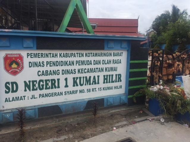 SDN 1 Kumai Hilir, Kotawaringin Barat, Kalteng (Sigit/iNewsTV)