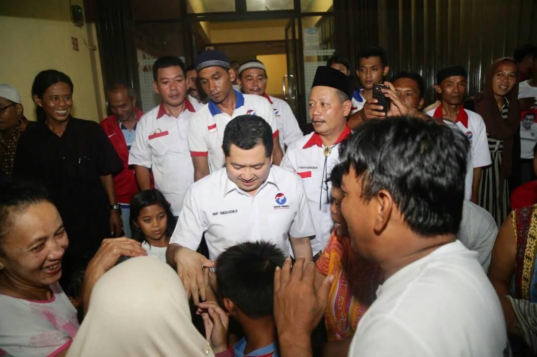 Sosok Hary Tanoe di Mata Pedagang Kecil di Pekanbaru