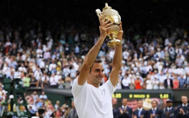 Juarai Wimbledon di Usia Tak Muda, Federer: Saya Terinspirasi dengan Rossi dan Schumacher