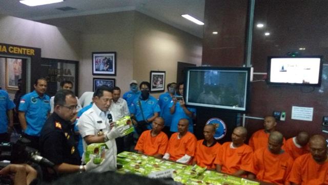 BNN Gagalkan Peredaran Sabu 45,59 Kg dari Malaysia