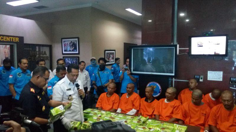 Gagalkan Peredaran Sabu dari Malaysia, BNN Tangkap Oknum Anggota Polisi