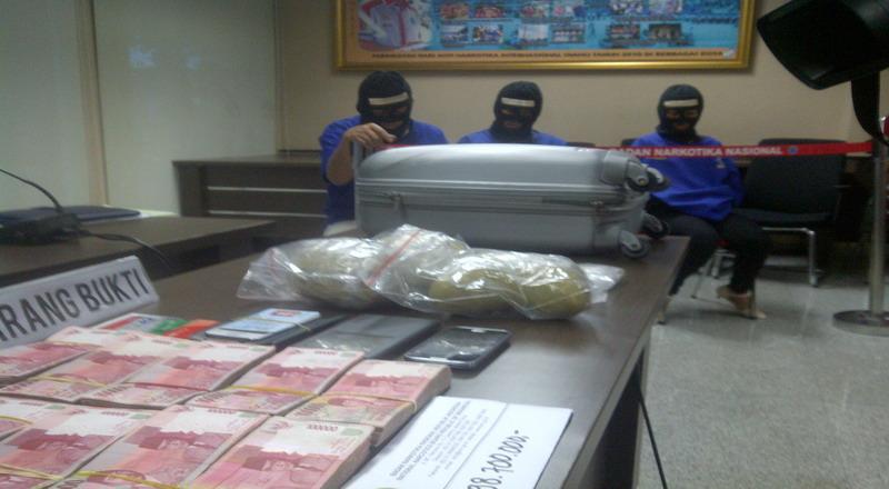 Polda Jateng Bongkar Peredaran 1 Kilogram Sabu asal Jakarta