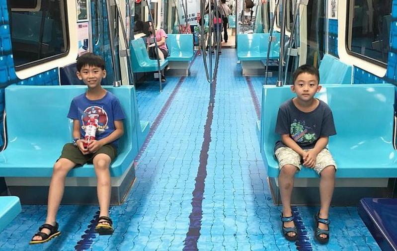 HOT THREAD (1): Uniknya MRT di Taiwan, Setiap Gerbong Kereta Punya Tema Berbeda