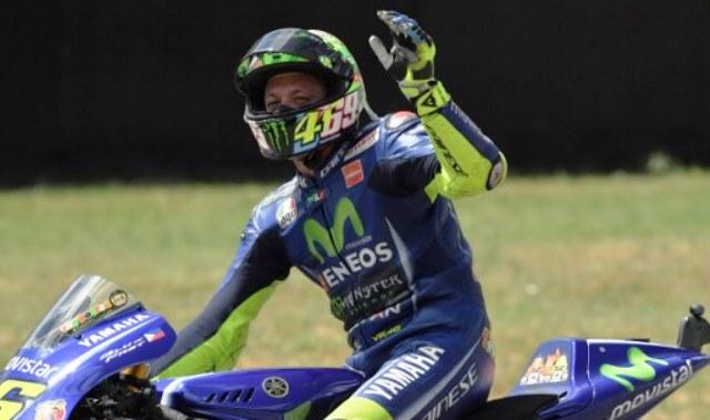 Terkait Masa Depannya di MotoGP, Rossi: Lihat Saja Nanti!