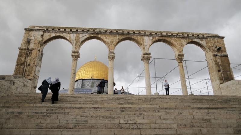 Salah satu masjid suci umat Islam, Masjid Al Aqsa di Yerusalem (Foto: Ammar Awad/Reuters)