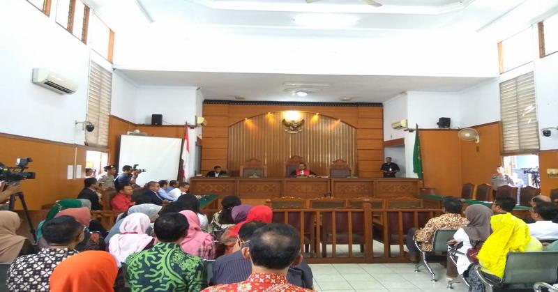 Ilustrasi sidang korupsi. (Foto: Dokumentasi Okezone)