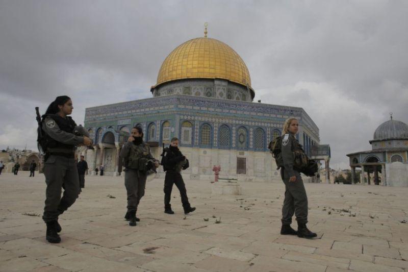 56 Jamaah Luka-Luka Dihadang Pasukan Israel di Masjid Al Aqsa
