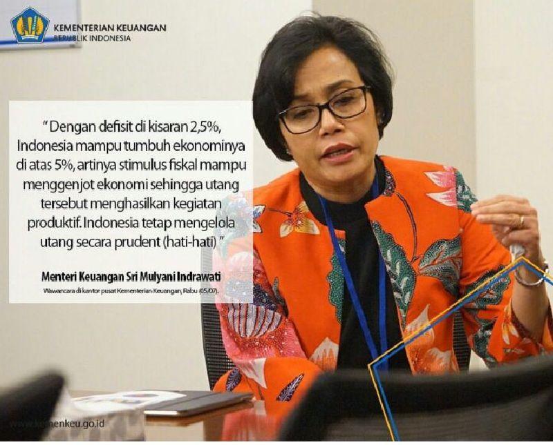 Bisakah Indonesia Tanpa Utang? Begini Jawaban Sri Mulyani