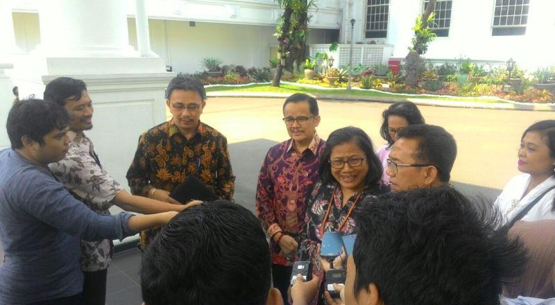 Bertemu PGI, Jokowi Cerita Warisan Utang hingga Pembangunan di Indonesia