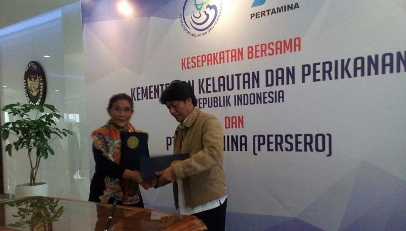 Image result for Kerjasama KKP dan Pertamina