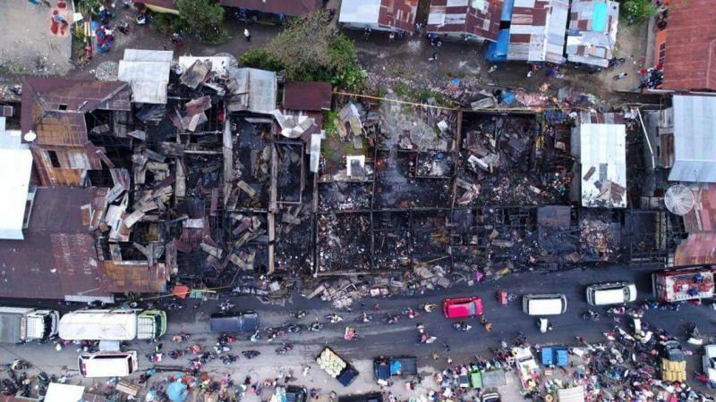 Pasar Koto Baru Kebakaran, 11 Kios & 1 Rumah Hangus ...