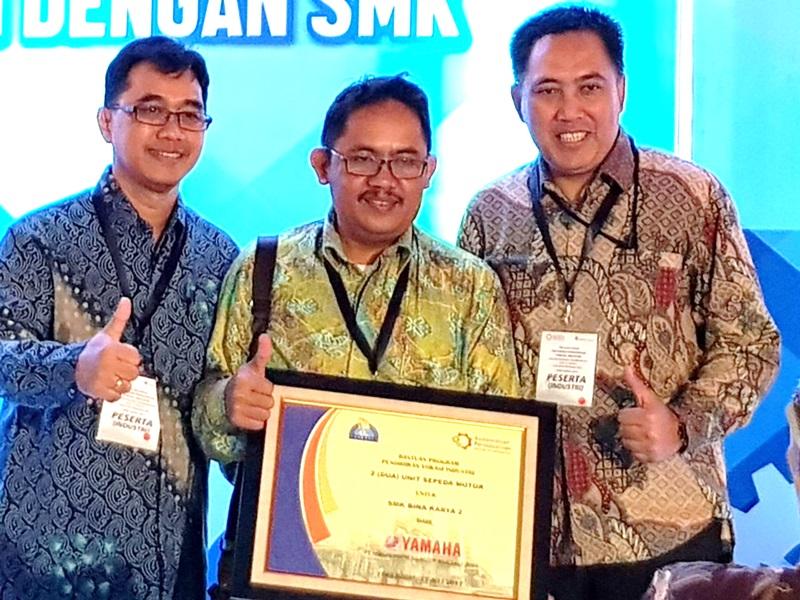 Yamaha bina SMK untuk ikuti program vokasi pemerintah (Foto: Ist)