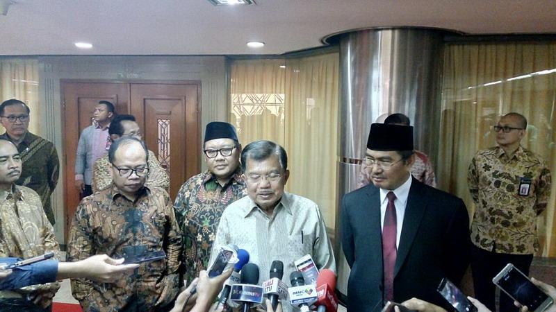 Hary Tanoe Merapat ke Jokowi, Wapres JK: Baguslah!