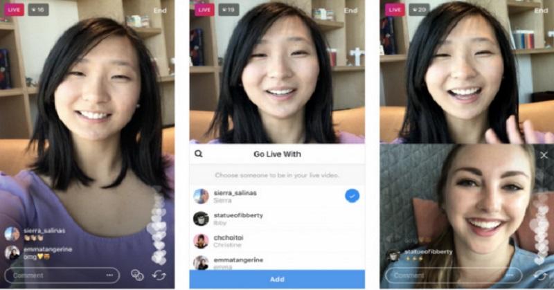 Keren! Update Instagram Mungkinkan Pengguna Tambah Teman ke Live Streaming