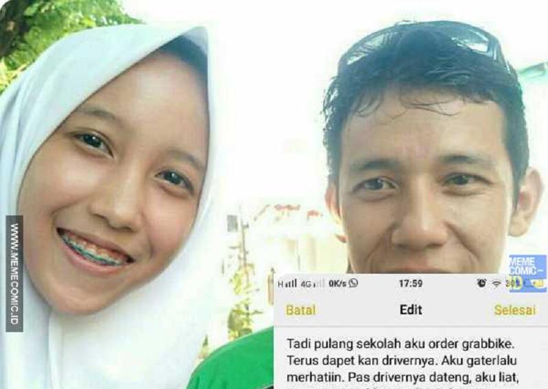 Sedih! Lama Menghilang, Pertemuan Anak dengan Driver Ojek Online Ini Bikin Netizen Terharu