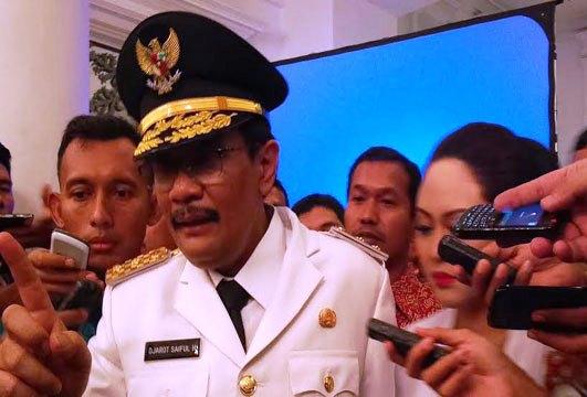 Plt Gubernur DKI Jakarta, Djarot Saiful Hidayat (foto: Okezone)