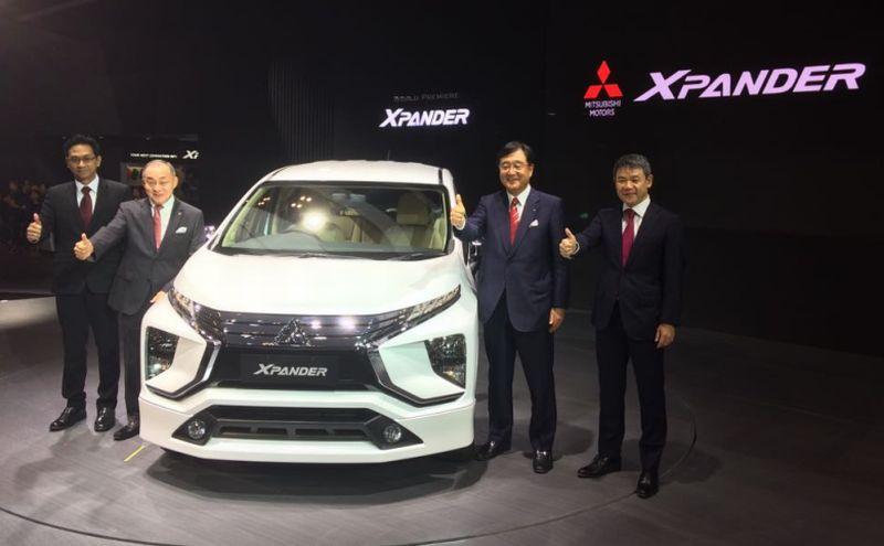 Debut Internasional Small MPV Xpander, Mitsubishi: Akhirnya, Bayi Kami Lahir!