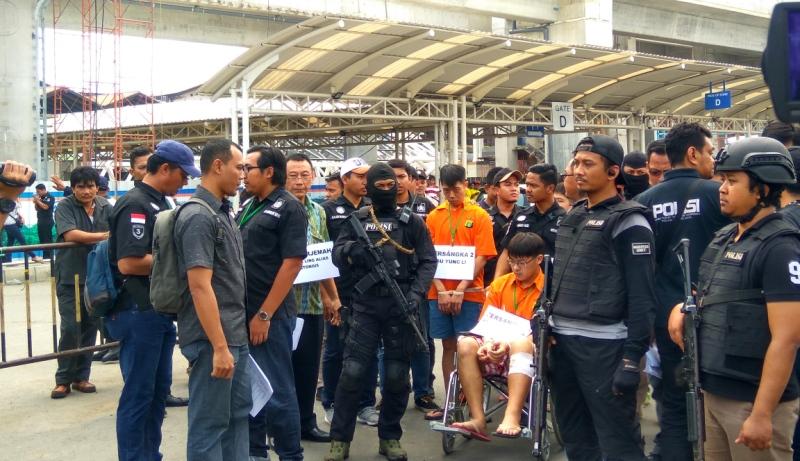 Hari Ini, Polda Metro Jaya Rekonstruksi Penyelundupan Sabu 1 Ton di Anyer