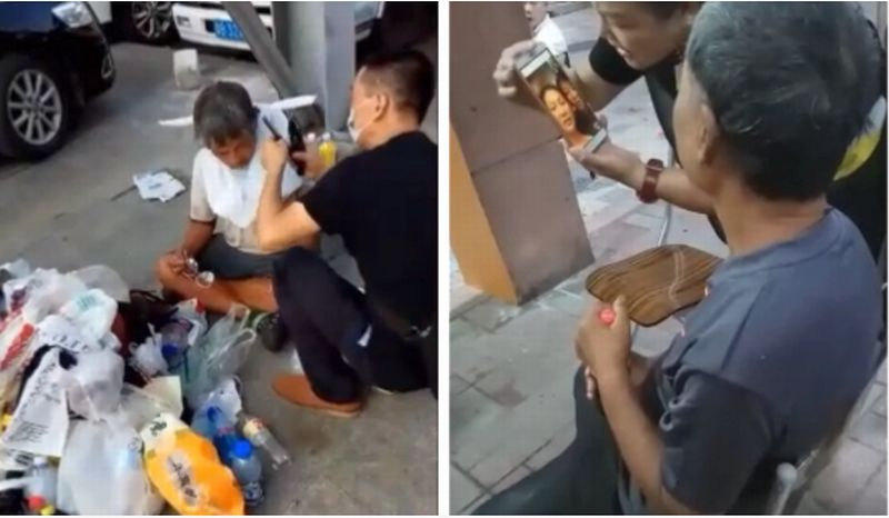Chan Chi, pengusaha yang hilang 11 tahun lalu ternyata menjadi gelandangan di China. (Foto: HK01)