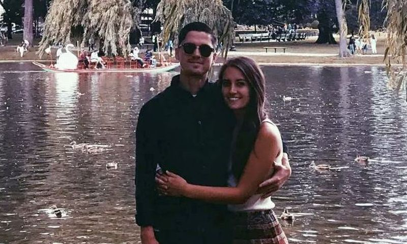 Chelsey Ramos dan pacarnya, Reece Lagunas. (Foto: Reece Lagunas)