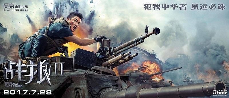 Kumpulkan Usd571 Juta Wolf Warrior 2 Geser The Mermaid Dari Puncak Box Office China Okezone Celebrity