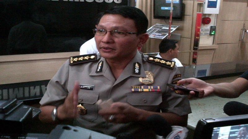 Kepala Bagian Penerangan Umum Divisi Humas Polri Kombes Martinus Sitompul. (Foto: Dok Okezone)