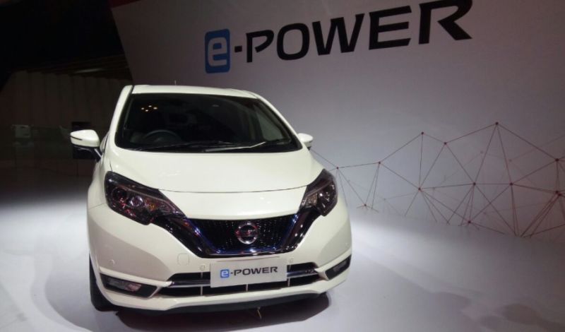 Nissan Note e-Power di GIIAS 2017 (Foto: Santo/Okezone)