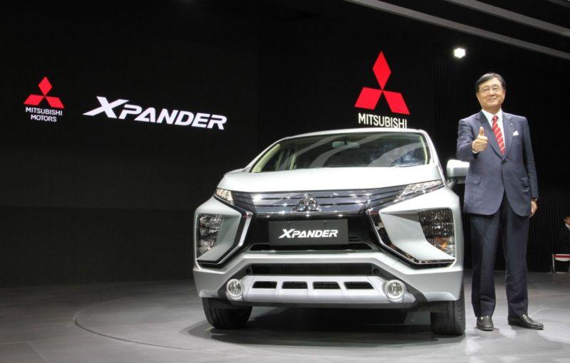 CEO Mitsubishi Motors Corporation Osamu Masuko saat peluncuran Xpander (MMKSI)