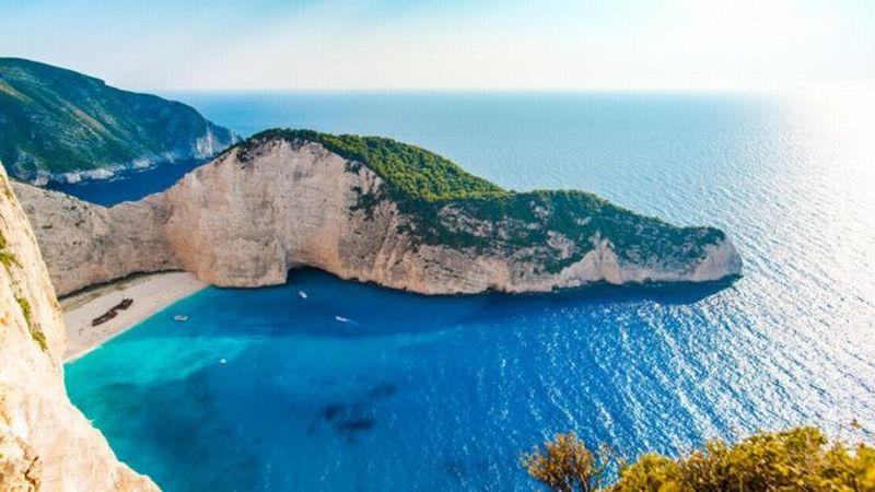 Laut di Pulau Zankinthos, Yunani. (Foto: Getty Images)