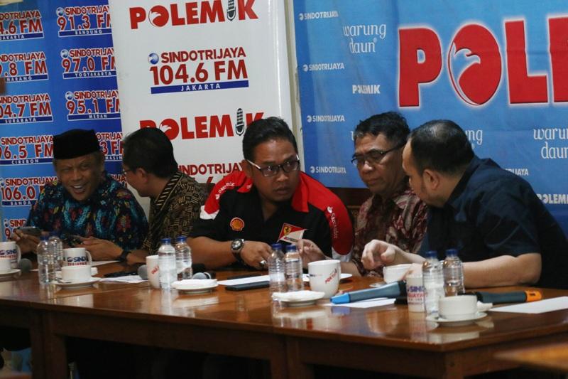 Diskusi kasus First Travel di Polemik Sindo Trijaya (Sabki/Okezone)